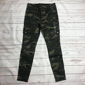 NY & Company Slim Leg Side Cargo Pants